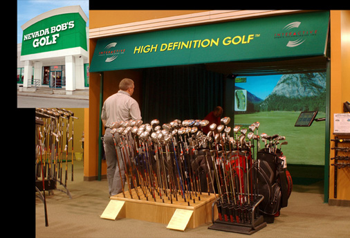 High Definition Golf Interactive Sports Technology