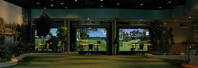 High Definition Golf Interactive Sports Technology